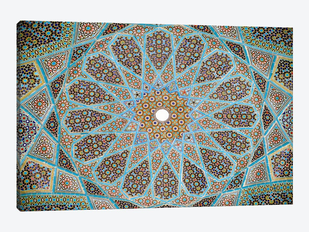 Tomb of Hafez Mosaic 1-piece Canvas Artwork