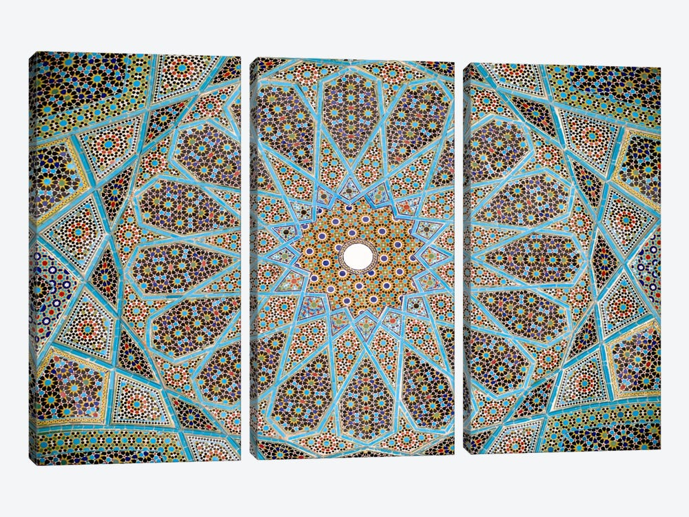 Tomb of Hafez Mosaic 3-piece Canvas Artwork