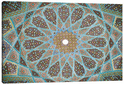 Tomb of Hafez Mosaic Canvas Art Print