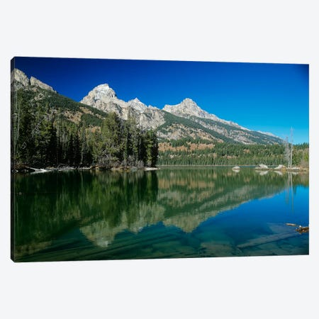 Grand Teton 06 Canvas Print #7301} by Gordon Semmens Canvas Art Print