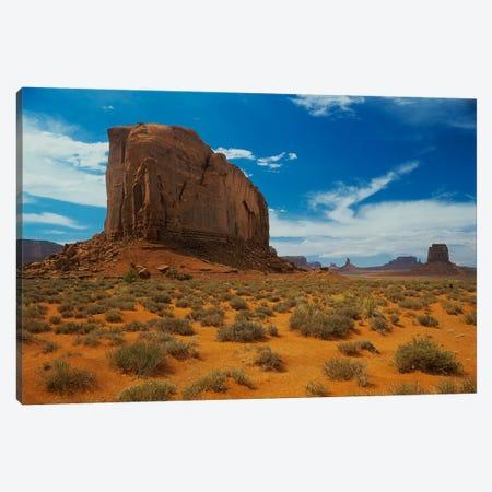 Monument Valley 3-Piece Canvas #7302} by Gordon Semmens Canvas Print