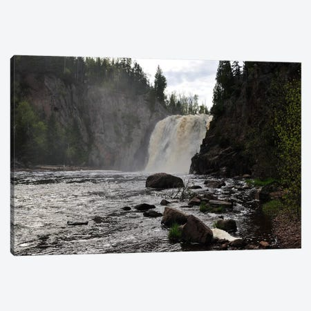 Lake Superior 11 Canvas Print #7307} by Gordon Semmens Canvas Wall Art