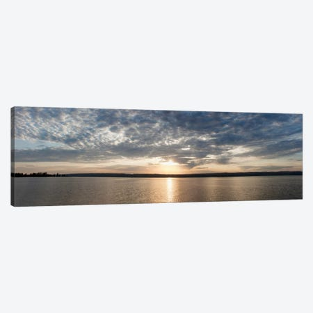 L'Anse Bay PanoramaBaraga, MI '11 Canvas Print #7317} by Monte Nagler Canvas Art Print