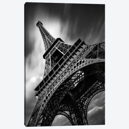 Eiffel Tower Study II Canvas Print #7318} by Moises Levy Canvas Wall Art