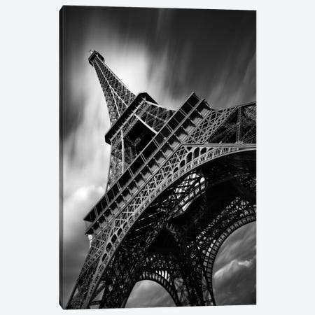Eiffel Tower Study II Canvas Print #7318} by Moises Levy Canvas Wall Art