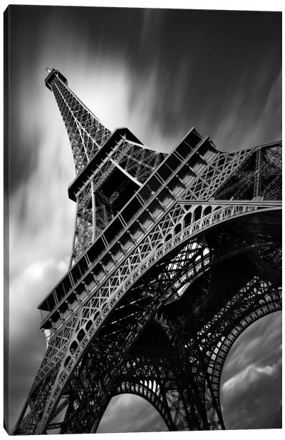 Eiffel Tower Study II Canvas Art Print