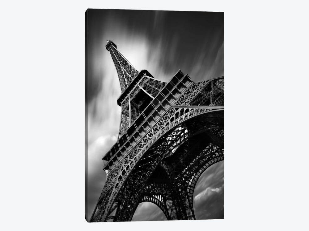 Eiffel Tower Study II by Moises Levy 1-piece Canvas Art Print