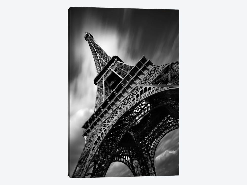 Eiffel Tower Study II by Moises Levy 1-piece Canvas Art Print