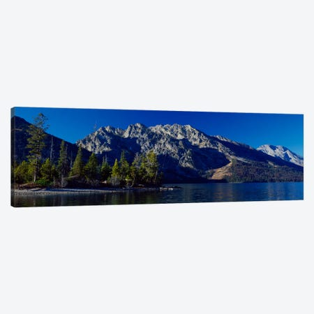 L- Teton Canvas Print #7325} by Gordon Semmens Canvas Wall Art