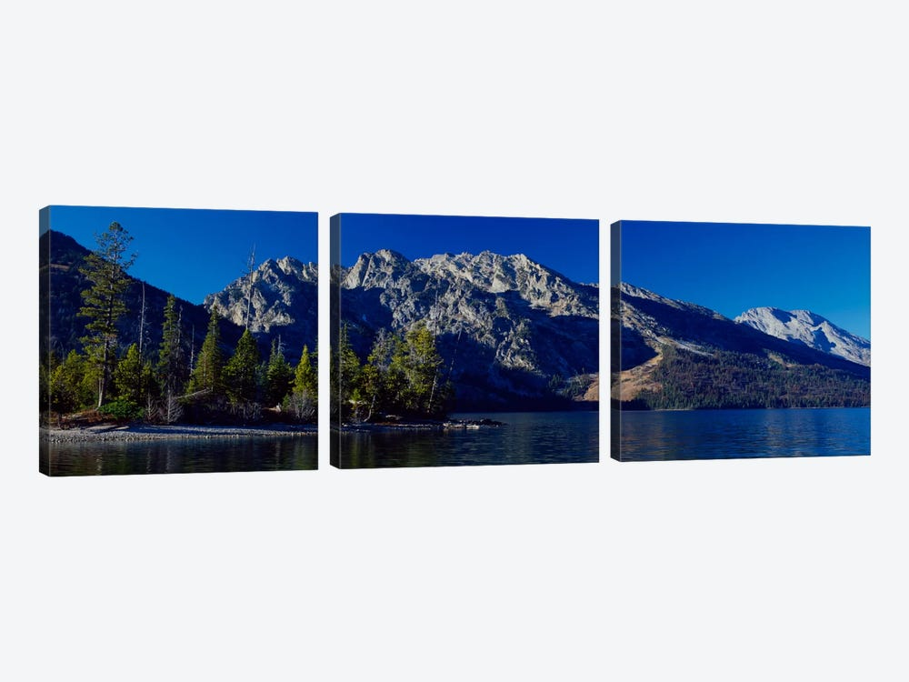 L- Teton by Gordon Semmens 3-piece Canvas Print