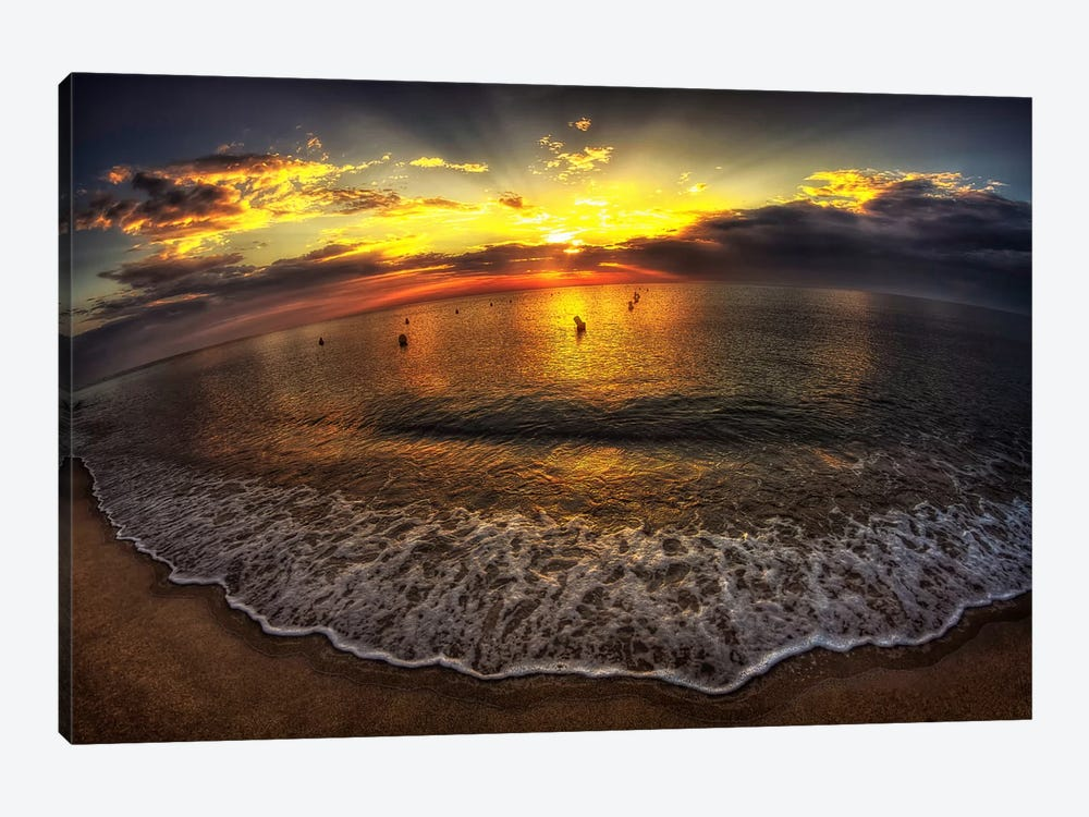 Another Day In Paradise by Sebastien Lory 1-piece Canvas Art Print