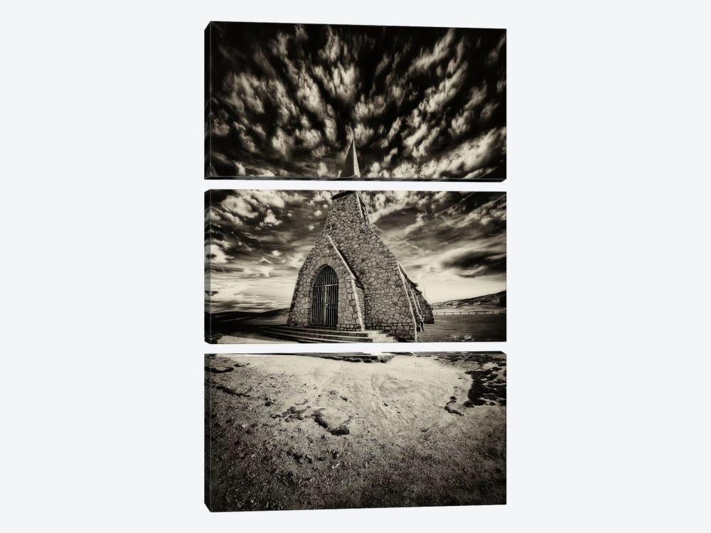Hell's Church by Sebastien Lory 3-piece Canvas Art