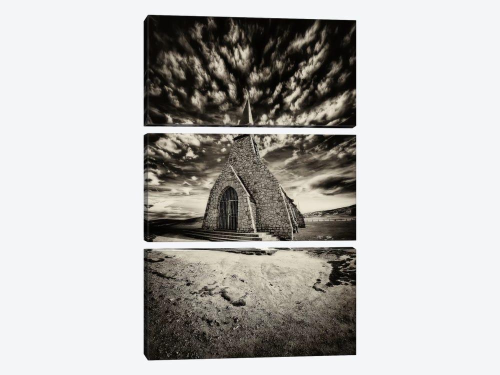 Hell's Church by Sebastien Lory 3-piece Canvas Art