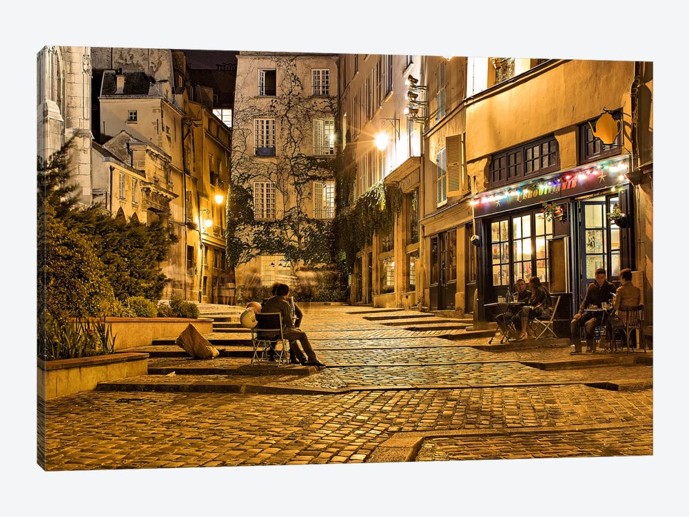 Night Mood by Sebastien Lory 1-piece Canvas Print