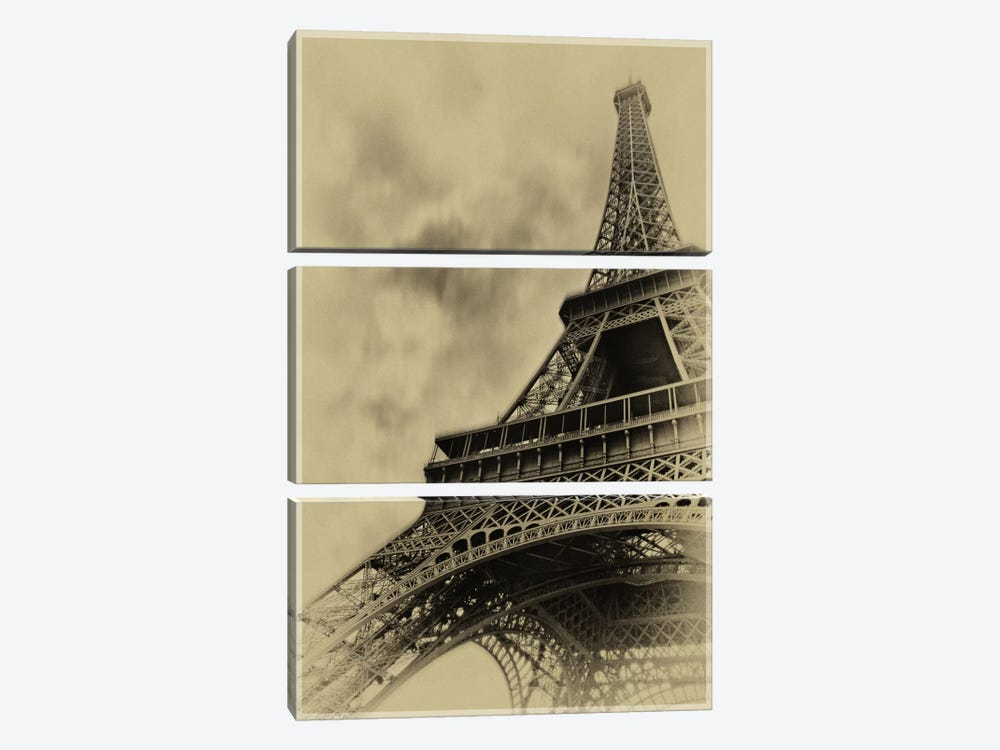 Parisian Spirit by Sebastien Lory 3-piece Canvas Artwork