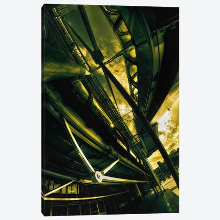 Beaubourg Canvas Print #7338} by Sebastien Lory Canvas Art