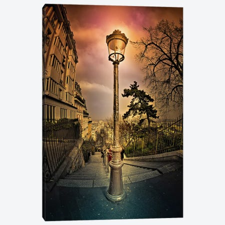 Reverbere Canvas Print #7339} by Sebastien Lory Canvas Wall Art