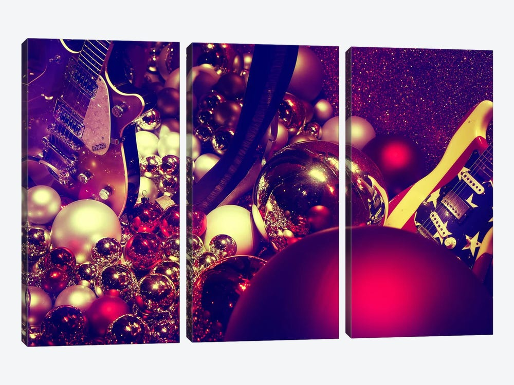 Christmas Gifts by Sebastien Lory 3-piece Canvas Print