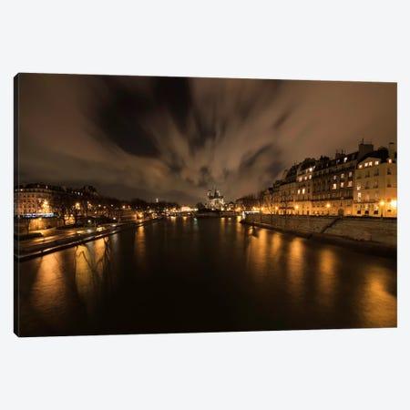 Notre Dame 3-Piece Canvas #7344} by Sebastien Lory Canvas Art