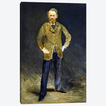 The Self Portrait Canvas Print #8028} by Edouard Manet Canvas Artwork