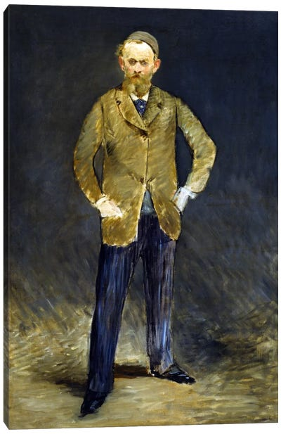 The Self Portrait by Edouard Manet Canvas Artwork