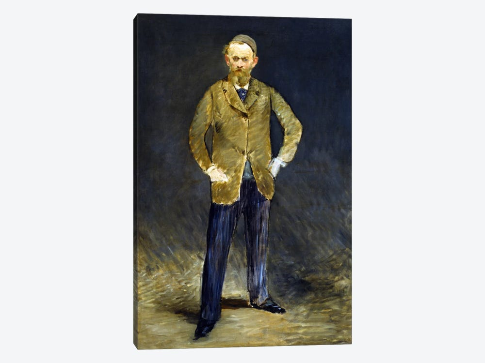 The Self Portrait by Edouard Manet 1-piece Canvas Print