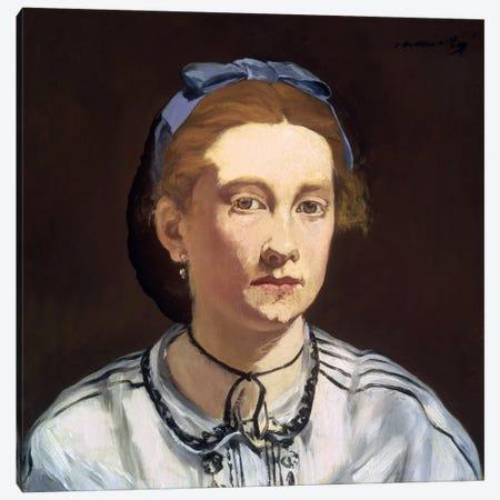 Victorine Meurent Canvas Print #8033} by Edouard Manet Canvas Print