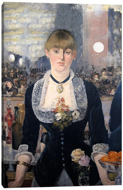 A Bar at The Folies Bergere Canvas Art Print