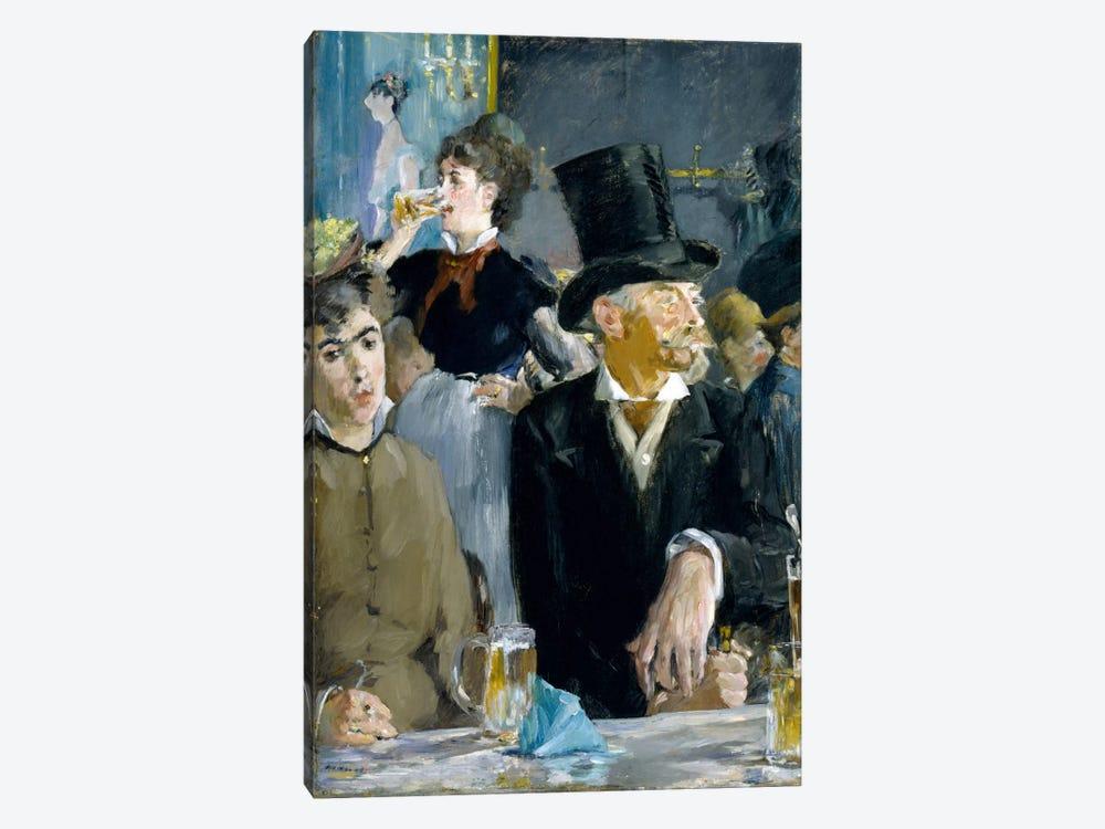At The Café by Edouard Manet 1-piece Art Print