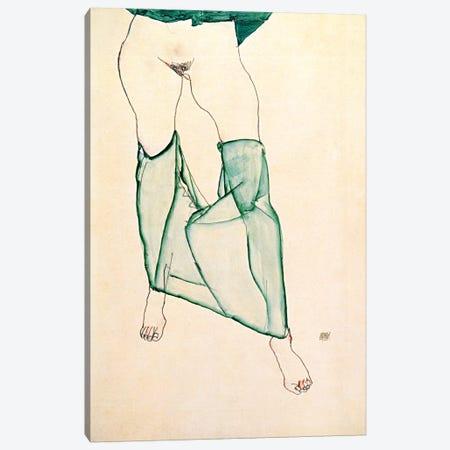 The Unsalvageable Ego Canvas Print #8074} by Egon Schiele Canvas Art