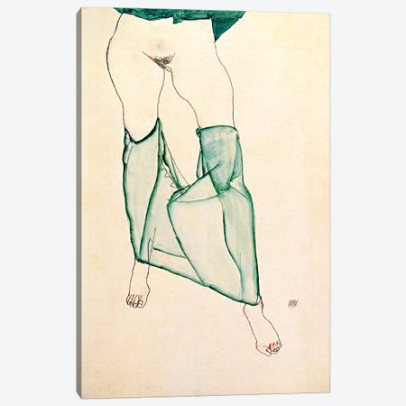 The Unsalvageable Ego Canvas Print #8074} by Egon Schiele Canvas Art