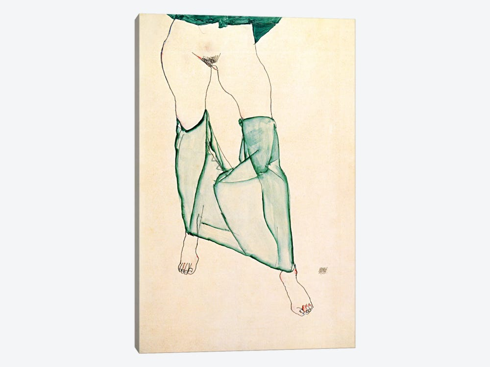 The Unsalvageable Ego by Egon Schiele 1-piece Canvas Wall Art