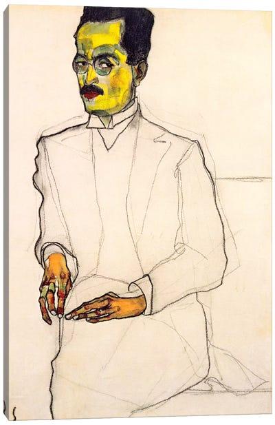 Portrait of a Gentleman Canvas Print #8120