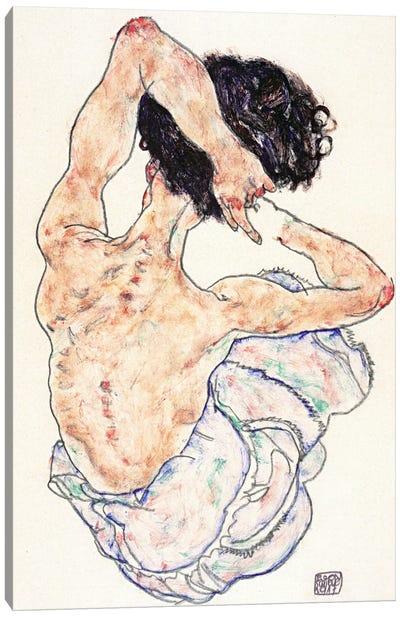 Sitting Back Act Canvas Print #8137
