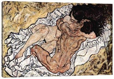 The Embrace (The Loving) Canvas Art Print