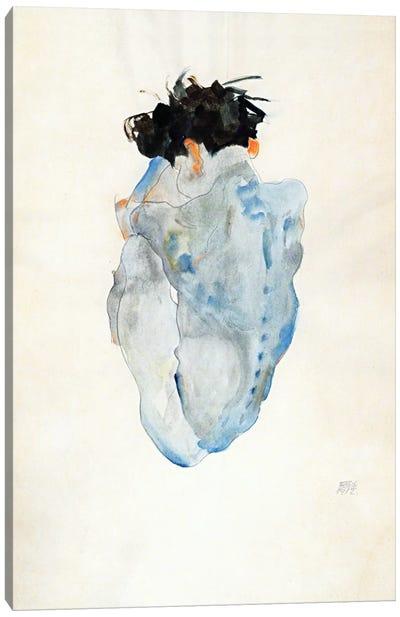 Crouching Canvas Art Print