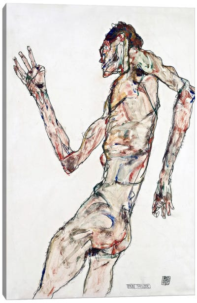 The Dancer Canvas Art Print