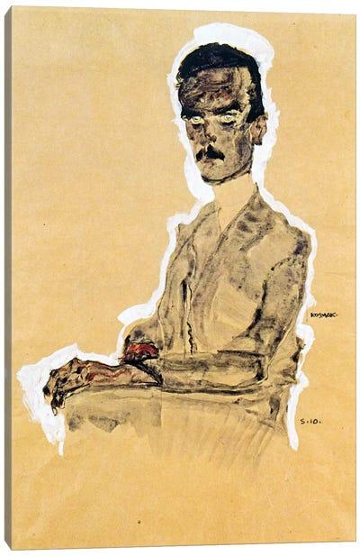 Portrait of Eduard Kosmack, Seated Canvas Print #8253