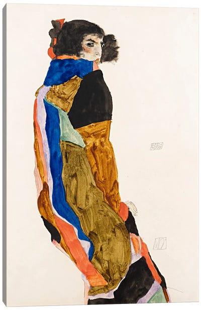 The Dancer Moa Canvas Art Print