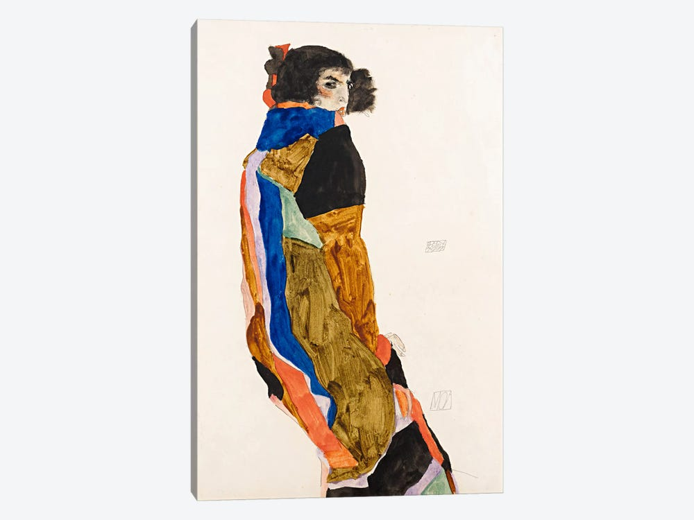 The Dancer Moa by Egon Schiele 1-piece Art Print