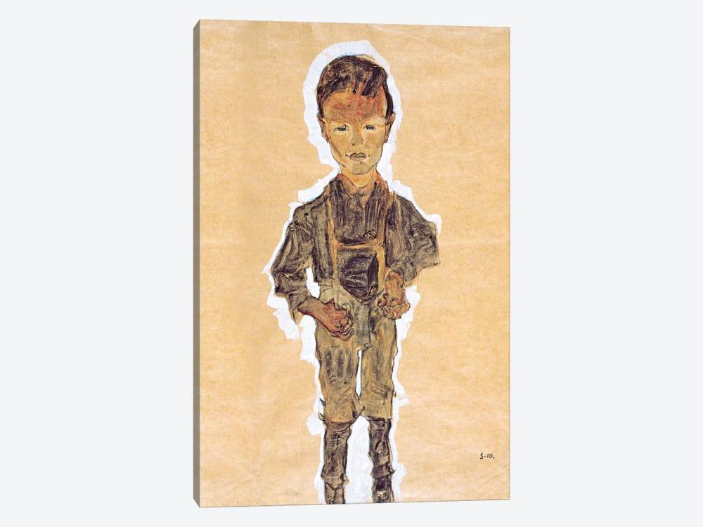 Worker (Boy) by Egon Schiele 1-piece Art Print