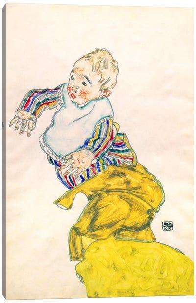 Schiele's Nephew Anton Peschka Canvas Print #8281