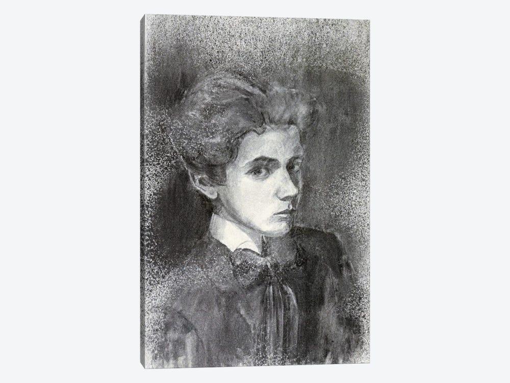Self-Portrait IV by Egon Schiele 1-piece Canvas Artwork