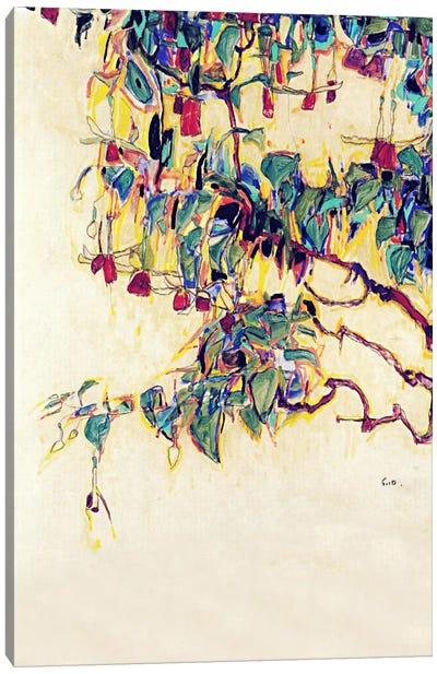 Sun Tree Canvas Art Print
