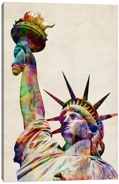 Statue of Liberty Canvas Print #8764
