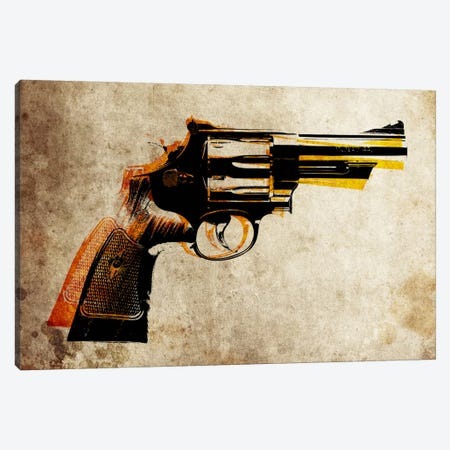 Revolver Canvas Print #8765} by Michael Tompsett Canvas Art