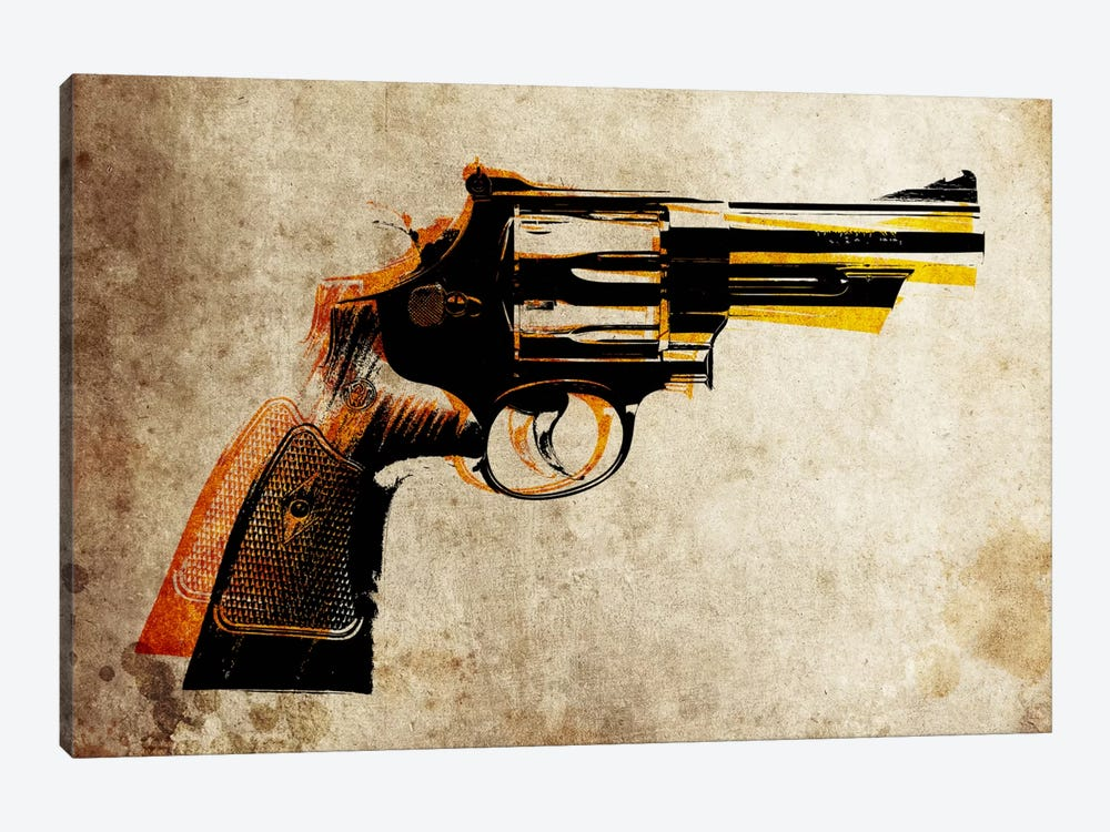 Revolver by Michael Tompsett 1-piece Canvas Print