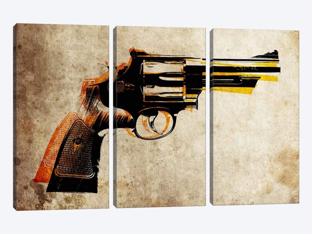 Revolver by Michael Tompsett 3-piece Art Print