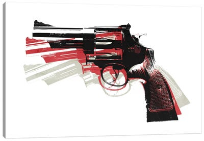 Revolver II Canvas Art Print