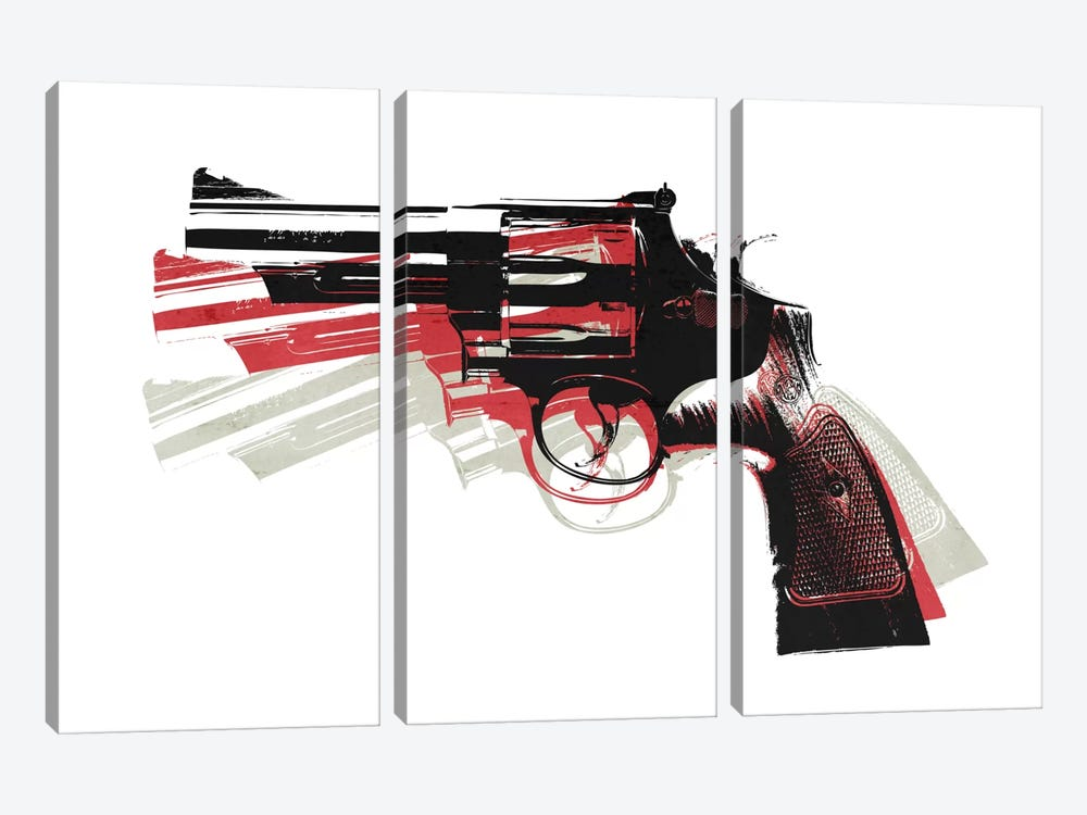Revolver II by Michael Tompsett 3-piece Canvas Artwork